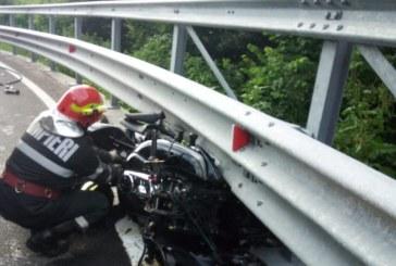 ACTUALIZARE: Accident de motocicleta pe Gutin, cu victime (FOTO)