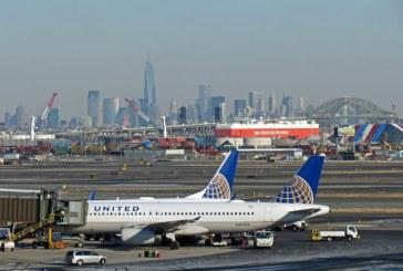 SUA: Aeroportul Newark a fost inchis sambata dupa ce un avion al companiei United Airlines a iesit de pe pista