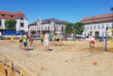 Sute de sportivi din 15 tari vor participa la Baia Mare Beach Handball Challenge 2019