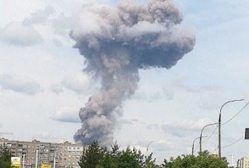 Rusia: Cel putin 38 de raniti in urma unor explozii intr-o uzina de munitii in orasul Dzerjinsk