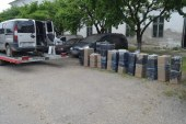 Fiat urmarit in trafic de politistii de frontiera din Sarasau