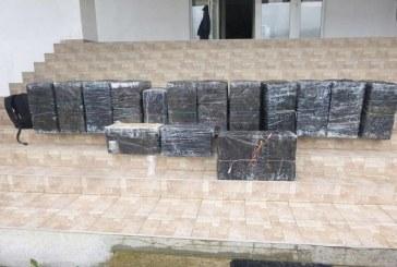 Aproximativ 9.000 de pachete cu tigari de contrabanda au fost gasite la Poienile de sub Munte si Valea Viseului