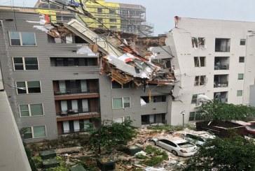 SUA: Un mort si sase raniti dupa ce o macara s-a prabusit peste o cladire de locuinte in Dallas