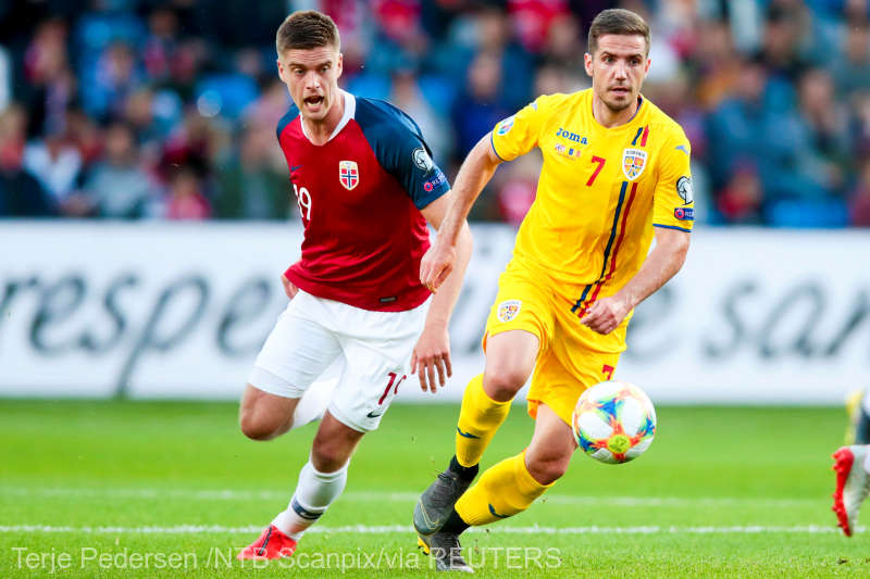 Fotbal: Norvegia - Romania 2-2, in preliminariile EURO 2020