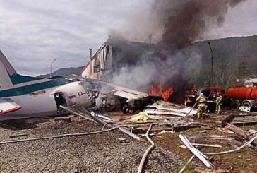 Rusia: Doi morti si sapte raniti dupa ce un avion de pasageri a efectuat o aterizare de urgenta