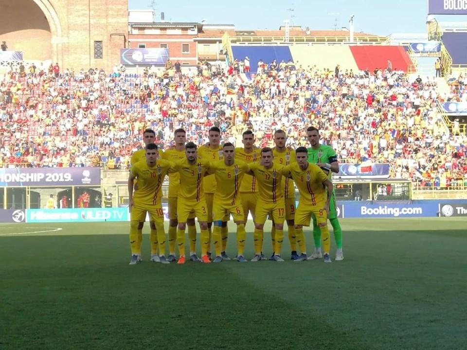 Fotbal: Romania, invinsa de Germania cu 4-2, in semifinalele Campionatului European Under-21