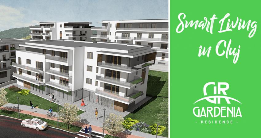 Smart City, Smart Living: un concept inovator adoptat în Cluj de Gardenia Residence!