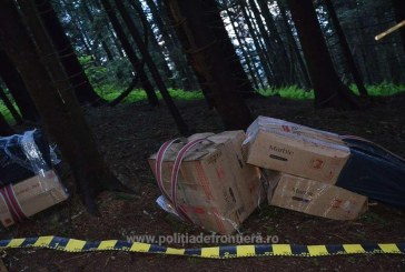 Contrabanda: Noi capturi de tigari in Maramures
