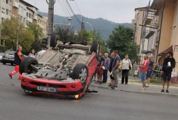 UPDATE: Accident rutier cu doua victime si doua autoturisme implicate, in Baia Mare (FOTO)