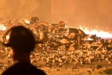 SUA: 45.000 de butoaie de whisky marca Jim Beam distruse intr-un incendiu