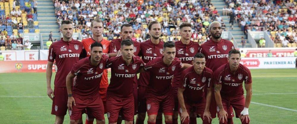 Fotbal: CFR Cluj, invinsa cu 1-0 de FC Astana in preliminariile Ligii Campionilor