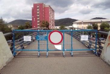 Circulatia pe podul de la Kaufland a fost inchisa. Vezi motivul
