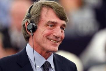 Socialistul italian David Sassoli, ales presedinte al Parlamentului European