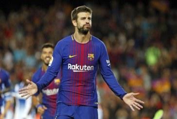Fotbal: Gerard Pique, condamnat sa returneze fiscului spaniol 2,1 milioane de euro