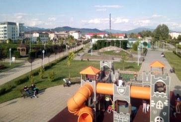 Imaginea zilei: Parcul Central Baia Mare