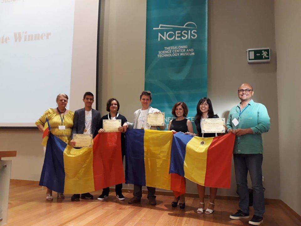Medalie de argint pentru Romania obtinuta de Radu Herzal de la Colegiul National