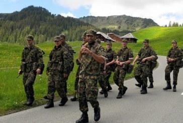 Elvetia: Peste 40 de soldati elvetieni s-au imbolnavit subit, patru in stare grava