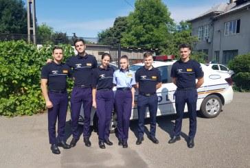 33 de studenti ai Academiei de Politie au inceput practica la I.P.J. Maramures