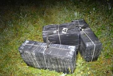 Contrabanda cu tigari la Valea Viseului. Tigarile au fost descoperite in apropierea frontierei de stat