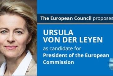 Ursula von der Leyen, propusa pentru sefia Comisiei Europene, Charles Michel, presedintele Consiliului European