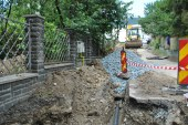BAIA MARE – lucrari de modernizare la reteaua de apa pe strada Ciocarliei