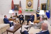 PNL: O noua vizita oficiala de succes a presedintelui Klaus Iohannis la Casa Alba