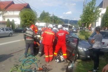 UPDATE: Accident rutier pe strada Vasile Lucaciu: Soferul din autoturismul acrosat a decedat (VIDEO)