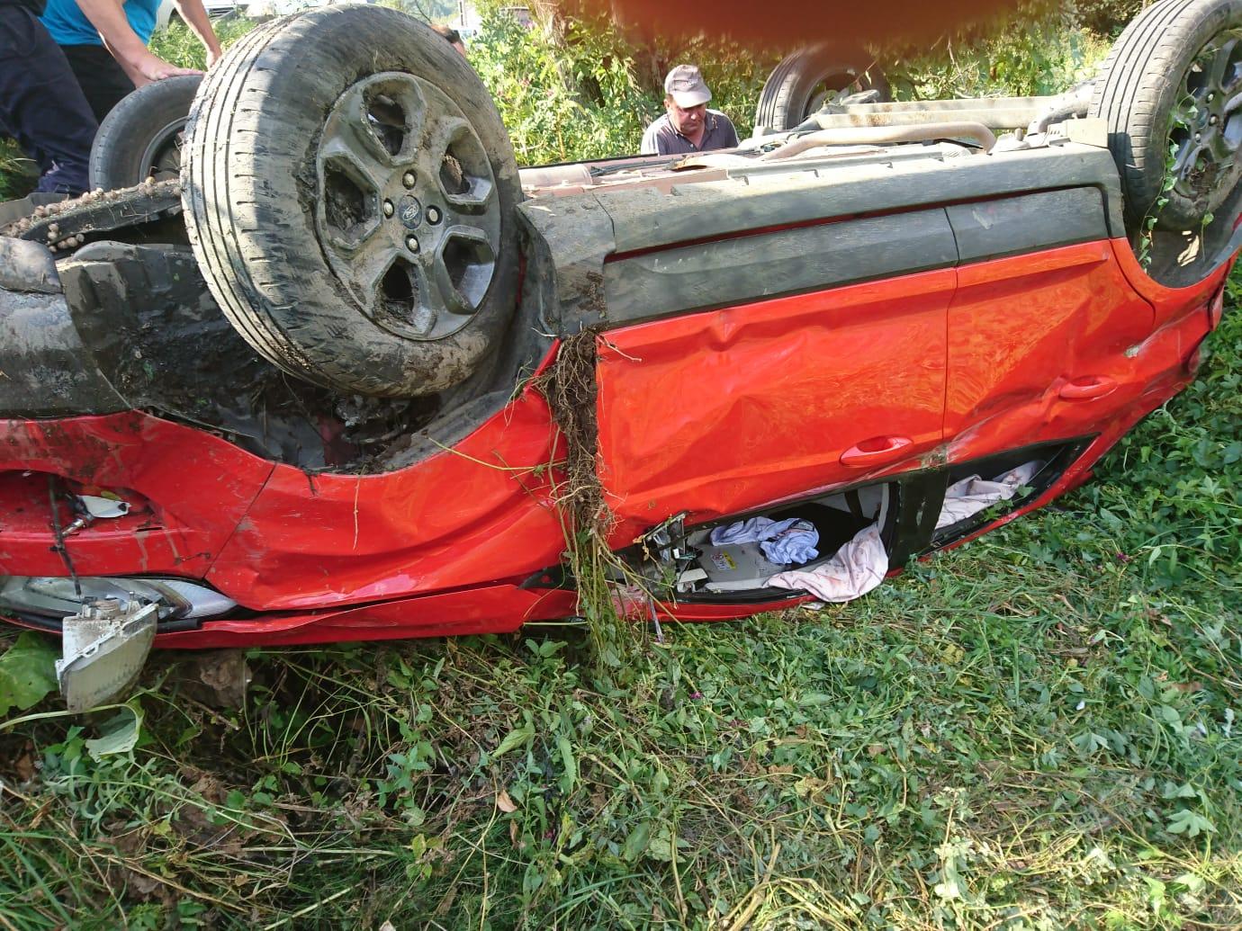 UPDATE - Ziua si accidentul: Trei victime la Cernesti (FOTO)