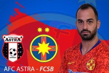 Fotbal – Liga I: Astra Giurgiu – FCSB 2-1