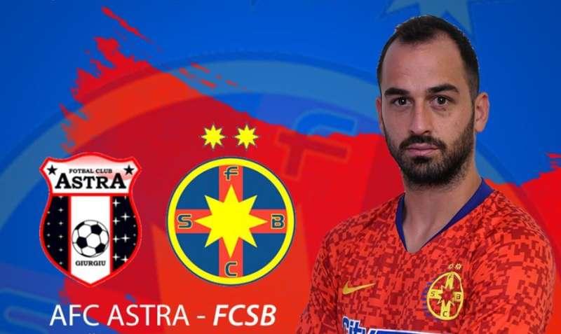 Fotbal - Liga I: Astra Giurgiu - FCSB 2-1