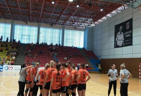 Handbal feminin: CS Minaur vs CSM Bucuresti (miercuri, ora 18.00, Sala Polivalenta Lascar Pana)