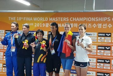 Baia Mare: 9 medalii obtinute la Campionatele Mondiale de Inot-Masters Gwangju, Koreea 2019 (FOTO)