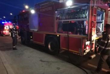 Incendiu la o garsoniera de pe strada Motorului. Proprietarul ar fi adormit cu tigara aprinsa