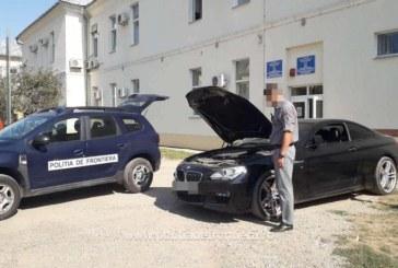 BMW in valoare de 40.000 de euro, cautat de autoritatile din Marea Britanie, descoperit in Borsa