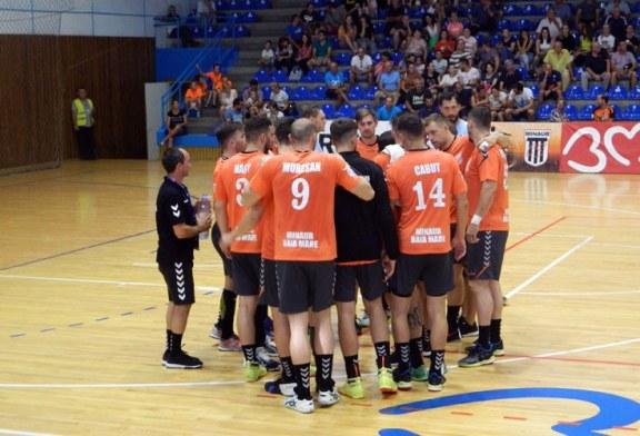 Handbal masculin – Liga Zimbrilor: Minaur ramane pe podium dupa o noua victorie