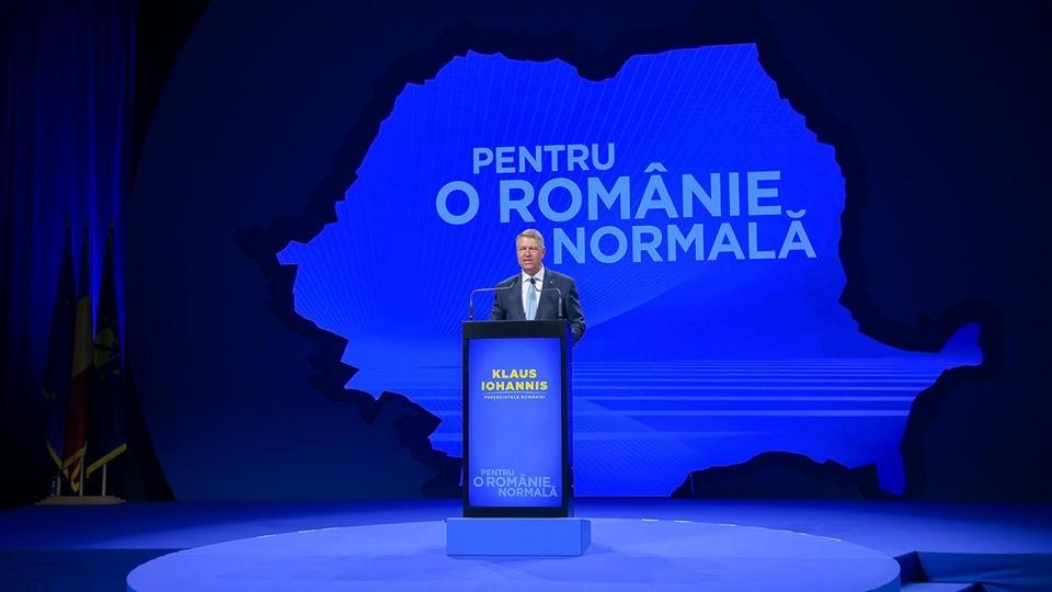 """Klaus Iohannis: ,,Reconstructia statului roman e o urgenta"""""""