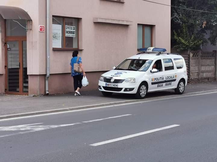 """Din seria """"Pe ei, cine-i amendeaza?"""": """"-De cand are dreptul Politia Locala sa ma filmeze?"""" // Un raspuns pertinent din partea primarului de Baia Mare..."""