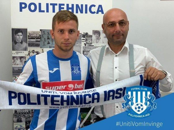 Fotbal: Maramureseanul Razvan Onea a semnat cu Politehnica Iasi