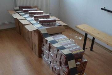 Maramuresean descoperit cu tigari de contrabanda si tutun