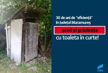 La inceperea noului an scolar, 31 de unitati de invatamant din Maramures au toaletele in fundul curtii