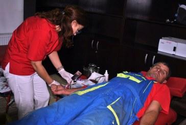 O noua campanie de donare de sange incheiata cu succes. Angajatii societatii VITAL S.A. au raspuns pozitiv si de aceasta data – zeci de angajati au donat sange pentru semenii lor