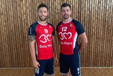 Volei masculin: Veniamin Aldea si Marius Iftime vor juca la Stiinta Explorari