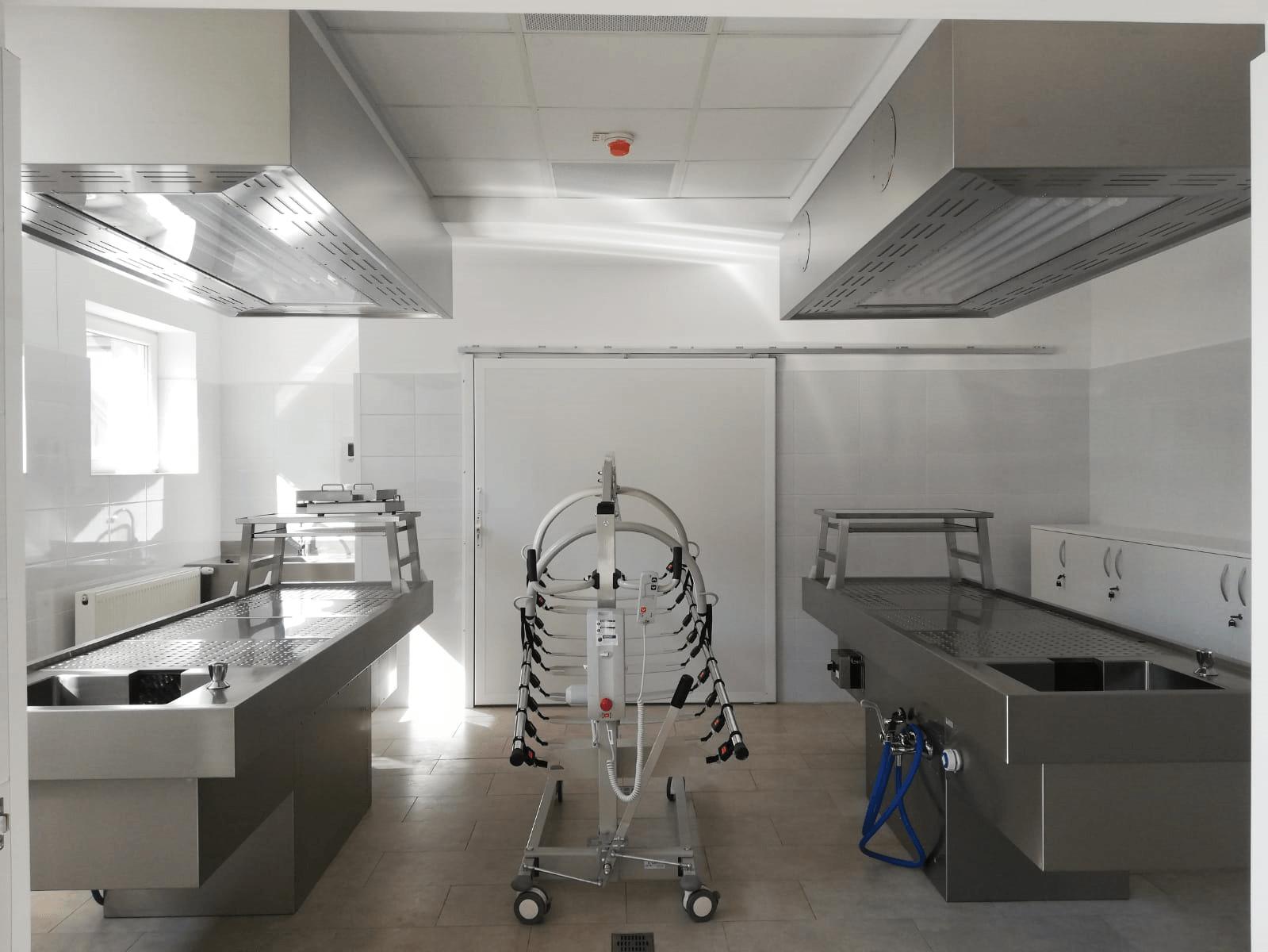 Prosectura Spitalului Judetean Baia Mare, dotata si echipata la cele mai inalte standarde (FOTO)