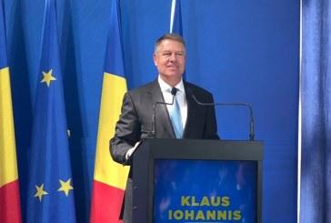 Klaus Iohannis: PSD a promis marea cu sarea si a realizat nimic