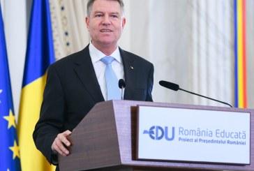 """""""Romania Educata"""", proiectul Presedintelui Iohannis, la aniversarea a 100 de ani de invatamant universitar romanesc la Cluj Napoca"""