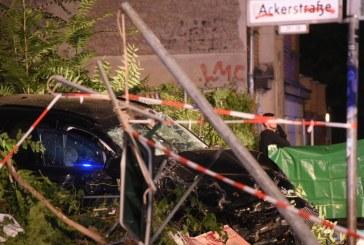 Germania: O masina sport a patruns pe trotuar si a ucis patru persoane in centrul Berlinului