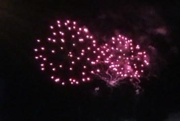 Artificii la CASTANE 2019: Spectacol de lumini la inaltime (VIDEO)