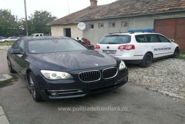BMW cautat de autoritatile din Germania, depistat la Petea