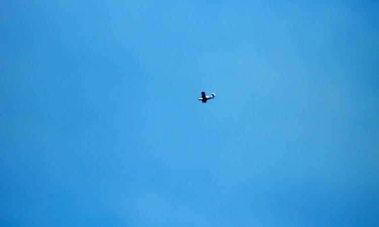 Imaginea zilei: Pe cerul Baii Mari
