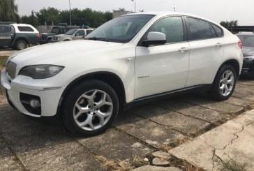 BMW seria X6, inmatriculat in Franta, cautat de autoritatile din Italia, depistat la Petea
